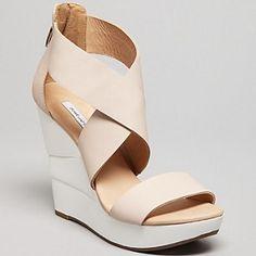 Diane Von Furstenberg - Platform Wedge Sandals - 30% DISCOUNT