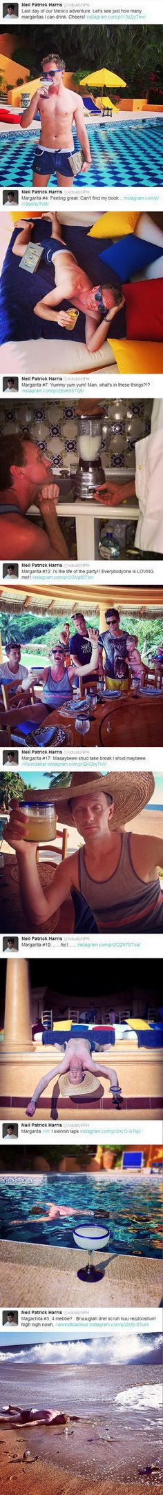 Neil Patrick Harris is such a legend...