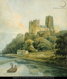 Durham Cathedral  by Thomas Girtin