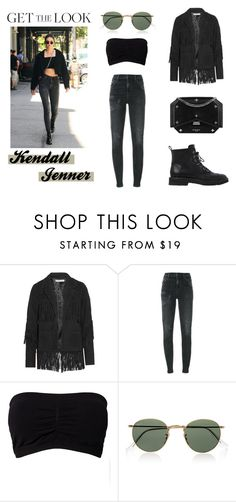 """Get the Look: Kendall Jenner"" by reneefoster022 ❤ liked on Polyvore featuring Chelsea Flower, Citizens of Humanity, Givenchy, Ray-Ban, Giuseppe Zanotti, GetTheLook and kendalljenner"