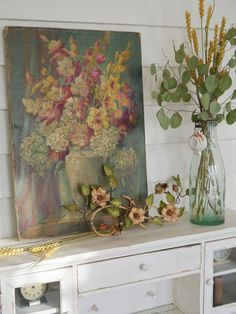 Chateau Chic: Fall Vignettes Around the Cottage