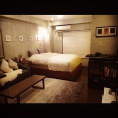 部屋全体/モダン/シンプルモダン/シンプル/アート/コンクリート打ちっ放し…などのインテリア実例 - 2015-03-18 22:20:18 | RoomClip(ルームクリップ)