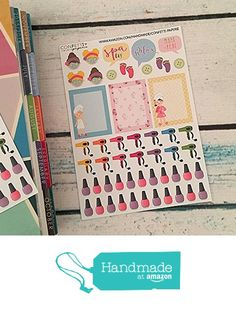 SPA, Relax, Nail Polish, Hair Appointment Planner Stickers, Erin Condren Life Planner, Kikki's Planner, Filofax, Agenda from Confetti Paperie http://www.amazon.com/dp/B017T2YLFG/ref=hnd_sw_r_pi_dp_UcHqwb1N0CYVQ #handmadeatamazon