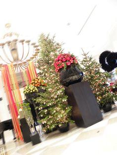 giant christmas tree, christmas decoration in Penha Longa Hotel, by Filipa Pereira