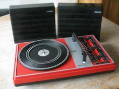 Rare 1970's ARISTONA Portable Stereo Record Player SX 5380