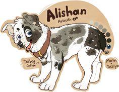 Tea-pup by KingCavy on DeviantArt Cute Disney Drawings, Cool Art Drawings, Cute Animal Drawings, Animal Design, Dog Design, Cartoon Dog Drawing, Wolf Artwork, Psy, Anime Animals