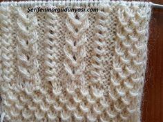 İster Gelin Yeleği Yapın İster Erkek Örgüsü Knitting Stiches, Knitting Videos, Crochet Stitches, Knitting Patterns, Crochet Patterns, Easy Model, Knit Vest, Pants Pattern, Kids Wear