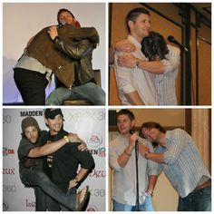 Jared Padalecki & Jensen Ackles.... Their poor wives. They probably have the best prank wars next to the Loki's.