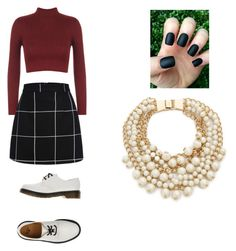 """Unbenannt #7"" by lfreischem on Polyvore featuring Mode, WearAll, Dr. Martens und Kate Spade"