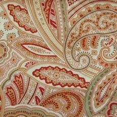 interior decline paisley fabric