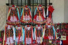 Traditional Polish costumes for sale in Poland