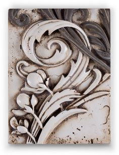 Nature's instrument plays with a curious flourish. Name: Royal Fern Collection: 2012 (Fall) - Collection of Curiosities  Tile #: T283