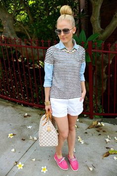 How to Get the Preppy Chic Look - Glam Bistro