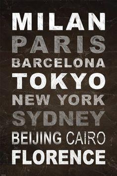 World Cities I