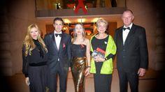 UNAIDS CHARITY NIGHT GENEVA - ASHLEY ROSE, CAROLINE RUPERT, KWEKU AND NDBABA MANDELA | AudreyWorldNews fashion luxury lifestyle
