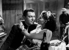 Casbah (1948) Tony Martin and Yvonne de Carlo. Joseff of Hollywood jewelry!