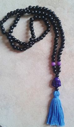 Mala beads by BeadsByMelissa on Etsy, $10.00