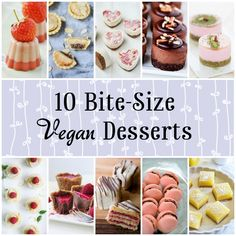 Mini Vegan Desserts 10 Mini Vegan Desserts - Perfect for parties and afternoon tea! - Mini Vegan Desserts - Perfect for parties and afternoon tea! Vegan Afternoon Tea, Afternoon Tea Recipes, Afternoon Tea Wedding, Vegan Teas, Vegan Foods, Vegan Recipes, Best Dessert Recipes, Sweet Recipes, Mini Patisserie