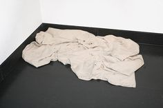 Susan Collis Dustsheet. This was in the 'Out of the Ordinary' exhibition first held at the V and then travelled to Sheffield's Millenium Gallery. I saw it a the latter gallery. It was in a small side room with a step ladder. At first I dismissed it when I first entered and then the supervisor at the entrance told me take a very close look. I discovered that all the paint splatters on this 'painter's dropsheet' were actually embroidered splatters. Artist At Work, Seventeen, Textiles, Embroidery, Painters, Ladder, Entrance, Cherry, Thoughts