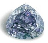 The Royal Purple Heart Diamond is the largest fancy vivid purple diamond known to exist, weighing 7.34 carats