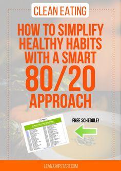 8020 raw food diet plan