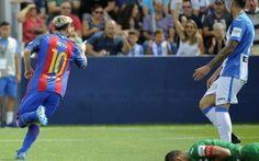 El tridente del Barcelona, con dos goles de Messi, destroza al Leganés | El…