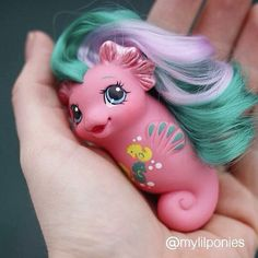 My Little Pony Baby Sea Pony Wave Runner custom made by TwinkleEye ...