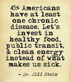 Dr. Jill Stein                                                                                                                                                      More