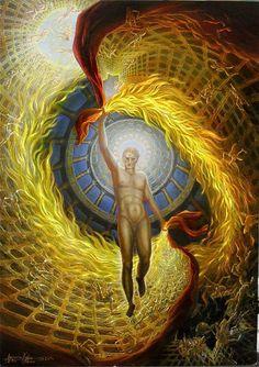 Prometheus-Gemälde-Art-Prometheus paintings-Prométhée-Fantastische Kunst-Griechische Mythologie-Kunstgeschichte