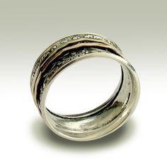 The Joyful Spinner Ring $188.00