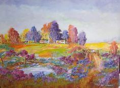 RAAPKRAAL Landscapes, Canvas, Painting, Art, Paisajes, Tela, Art Background, Scenery, Kunst