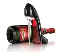 Louboutin Stiletto champagne flute! How about drinking from this shoe!