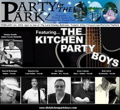 """Artist Press Release on CCMA website for Feb 1st 2014 Show """"Party For The Park"""""""