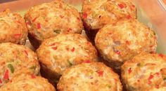 These Turkey Meatloaf Muffins are inspired by Jamie Eason and they make a perfect light lunch or high protein snack on the go!