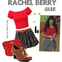 Rachel Berry Glee, 3x22.