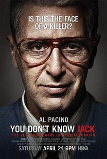 Analyze this: Al Pacino is Jack Kevorkian, patient-assisted suicide advocate. Directed by Barry Levinson.
