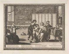 с.1632.Bosse, Abraham. The Surgeon (La Saignée). Etching and engraving.11 7/16 x 14 9/16 in. (29.1 x 37 cm). Metropolitan Museum of Art, New York NY.