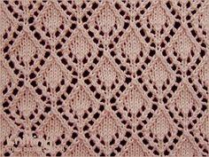 eyelet-lace-stitches   Knitting Stitch Patterns