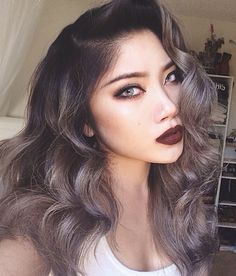 dark grey hair - Google Search
