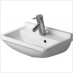 Starck 3 Handrinse Basin 450 x 320mm - Without Tap Hole