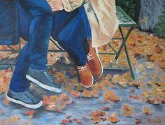 The Secret Oil on canvas 61x46  The Secret por María Palacios se encuentra bajo una Licencia Creative Commons Atribución-NoComercial-SinDerivadas 3.0 Unported.