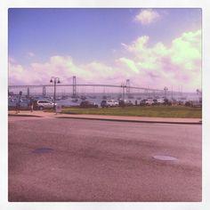 The Newport Bridge from Jamestown, RI - 8.26.2012