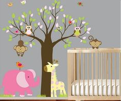 You can buy this Vinyl Child Deco directly from the author. Printed in high resolution, is can made in any size, are personalized to your liking, new designs are developed and orders are shipped #worldwide #girl #decoration #room #girldecoration #roomdecoration #flowers #bird #pink #child #girl #girlroom