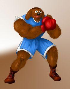 Sesame Street Fighter ROLF