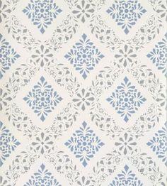 24 förslag till dig som går i tapettankar Wall Wallpaper, Cottage Wallpaper, Wallpaper Patterns, Diamond Design, Blue Walls, Textile Patterns, String Art, Scandinavian Style, Scrapbook Paper