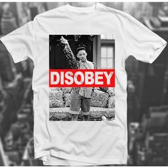 Disobey Dope Prince Swagg Hipster Will Smith Trill 90's Sk8r Top Tee... ($17) ❤ liked on Polyvore featuring tops, t-shirts, shirts, tees, graphic shirts, graphic tees, checked shirt, hipster graphic tees and graphic t shirts