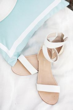 18 Elegant White Wedding Shoes ❤ See more: http://www.weddingforward.com/white-wedding-shoes/ #weddings #shoes