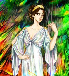 Hera from Percy Jackson and the Olympians/The Heroes of Olympus. Zeus Y Hera, Hades And Persephone, Hera Goddess, Goddess Art, Percy Jackson Crossover, Percy Jackson Fandom, Roman Mythology, Greek Mythology, Ancient Greek Religion