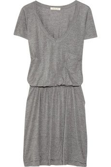 A.L.C. Cate gray jersey T-shirt dress | NET-A-PORTER