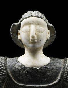 Princesse de Bactriane (détail), 3e millénaire av J.-C.